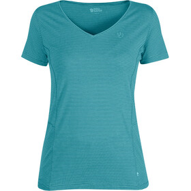 Fjällräven Abisko Cool Shortsleeve Shirt Women teal
